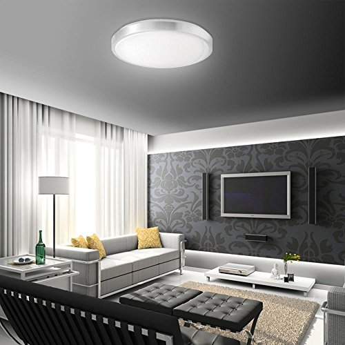sailun 15w led panel warmwei kaltwei moderne deckenlampe wandlampe energiespar deckenleuchte. Black Bedroom Furniture Sets. Home Design Ideas
