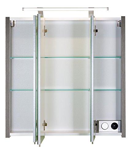 Schildmeyer spiegelschrank holz dekor 70 x 17 x 67 cm - Spiegelschrank holz ...