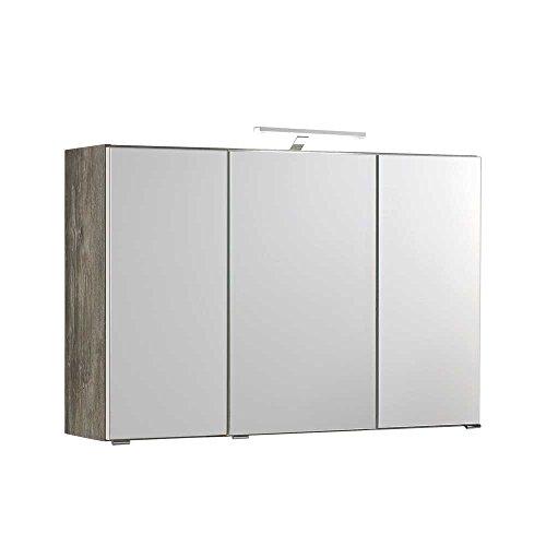 Badezimmer Spiegelschrank  3-türig
