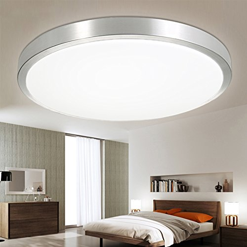 Vingo 15w led panel wohnzimmer deckenleuchte deckenlampe for Deckenleuchte flur led