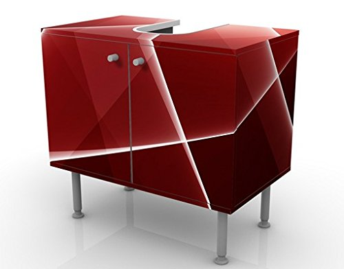 waschbeckenunterschrank red reflection 60x55x35cm design. Black Bedroom Furniture Sets. Home Design Ideas