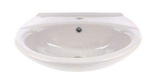 waschtisch 55 cm manhattan grau waschbecken waschplatz bad badezimmer g ste wc. Black Bedroom Furniture Sets. Home Design Ideas