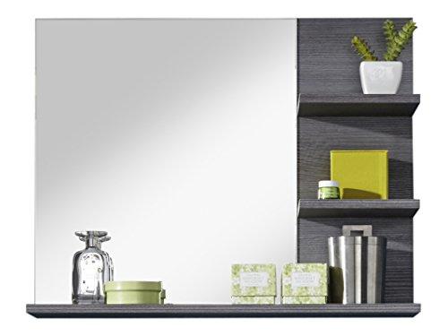 trendteam mi40121 badezimmerspiegel mit ablage rauchsilber. Black Bedroom Furniture Sets. Home Design Ideas