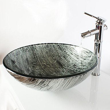 Waschbecken Hartglas |  Waschplatz Hartglas | Waschtisch Hartglas