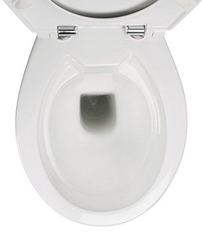 aquasu stand wc set 7 cm sp lrandlos f r senioren und gro e menschen tiefsp ler abgang. Black Bedroom Furniture Sets. Home Design Ideas