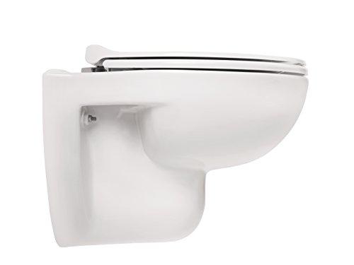 aquasu wand wc set tiefsp ler sp lrandlose toilette h ngetoilette einfache reinigung 1. Black Bedroom Furniture Sets. Home Design Ideas