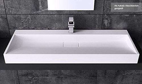 BTH: 80x46x11 Cm Design Waschbecken Colossum19, Aus