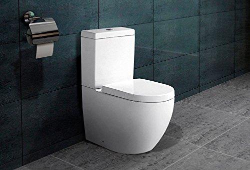bodenstehend kombination stand wc nano beschichtung softclose b2376a. Black Bedroom Furniture Sets. Home Design Ideas