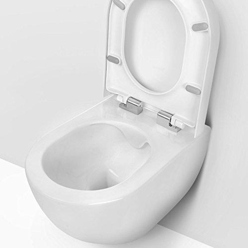 design wand h nge wc toilettensch ssel tiefsp ler inkl wc. Black Bedroom Furniture Sets. Home Design Ideas