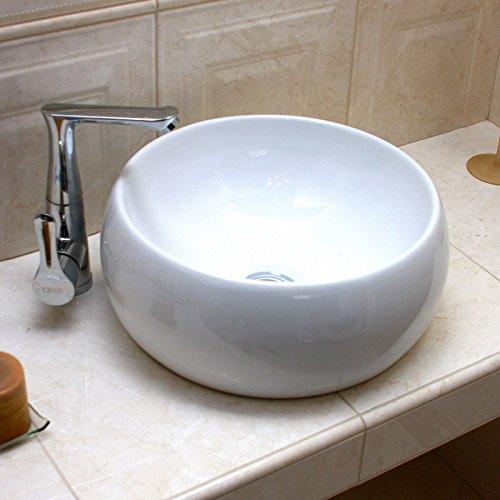lavita keramik waschbecken weiss 41 cm 470870. Black Bedroom Furniture Sets. Home Design Ideas
