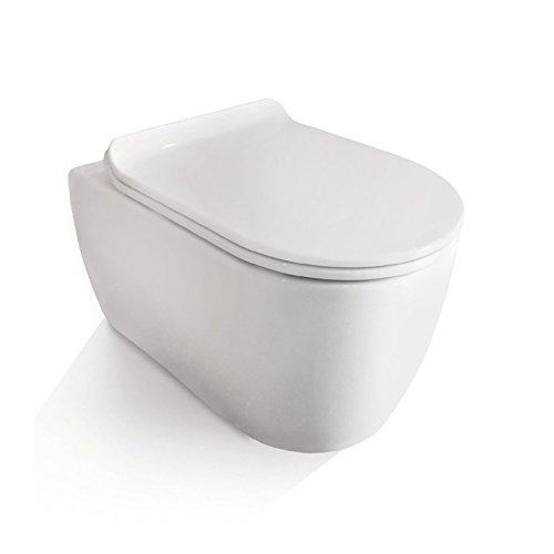 Neg Hange Wc Uno11rk Slimline Tiefspuler Randlos Kurz Toilette