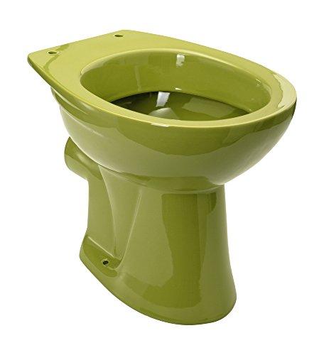 stand wc tiefsp ler abgang waagerecht oliv. Black Bedroom Furniture Sets. Home Design Ideas