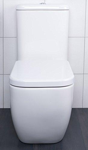 toilette wc stand keramik aufputz sp lkasten geberit innengarnitur soft close. Black Bedroom Furniture Sets. Home Design Ideas