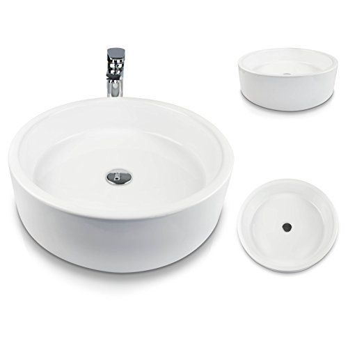 Keramik Aufsatz für Wachbecken | Aufsatz Keramik Waschbecken für Wachtisch