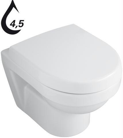 villeroy boch wand wc ohne deckel tiefsp ler compact omnia architectura 35 5x48cm wei. Black Bedroom Furniture Sets. Home Design Ideas