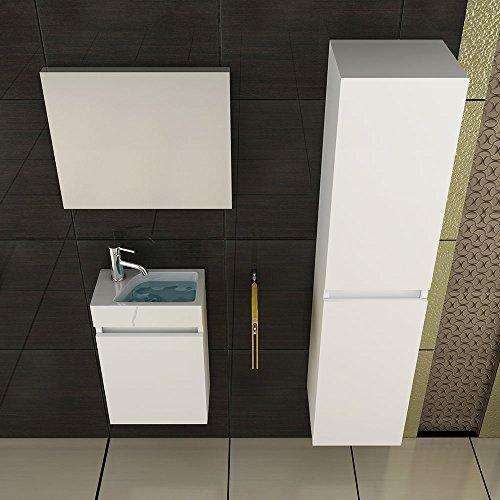 waschbecken und unterschrank badezimmer set. Black Bedroom Furniture Sets. Home Design Ideas