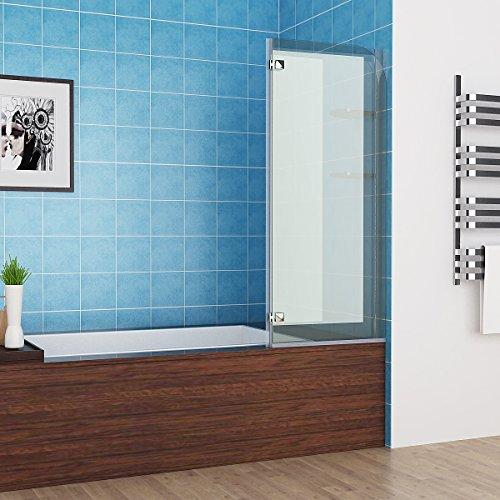 100 120 x 140 cm badewannen 2 tlg faltwand aufsatz 180 duschwand duschabtrennung nano glas 0 5. Black Bedroom Furniture Sets. Home Design Ideas