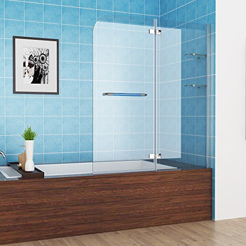 100x120x140 cm Faltwand | Badewanne Duschabrennung | Badewannenfaltwand