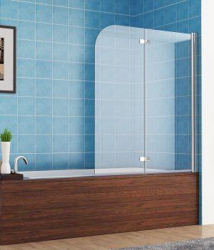 110x140 cm duschwand | Faltwand 110x140 cm