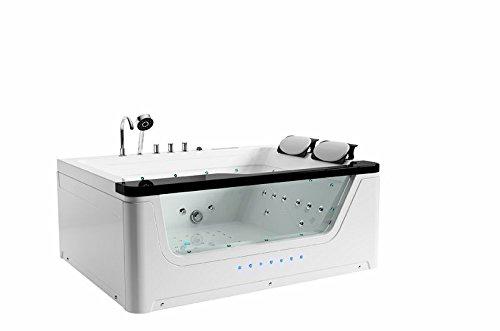 2 Personen Whirlpool Badewanne | Badewanne für 2 Personen