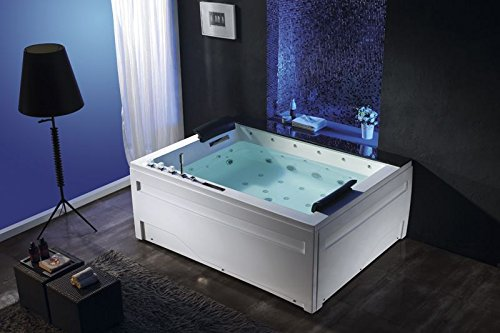 2 personen whirlpool jackson badewanne whirlwanne marmor wasserfall uvp 5290 0 0. Black Bedroom Furniture Sets. Home Design Ideas