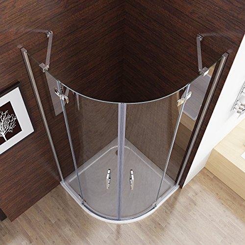 80x80x195 cm Duschkabiene rund    Dusche rund    Pärchendusche rund   2 Personen Dusche