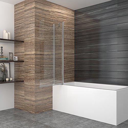 Duschabtrennung glas fur badewanne - Duschwand fur badewanne glas ...