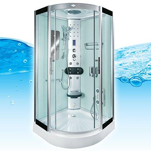 acquavapore dtp8046 0000 dusche duschtempel komplett duschkabine 80x80. Black Bedroom Furniture Sets. Home Design Ideas