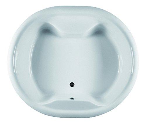 180x153 cm Acryl Badewanne rund | runde Badewanne | Whirlpool Badewanne