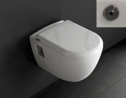 Aqua Bagno Design Hänge-WC Set LEIA TAHARAT - Wc inkl. Sitz Toilette ...