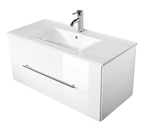 weiß hochglanz badmöbel
