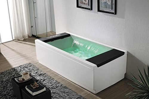 designer whirlpool whirlwanne badewanne wasserfall 2 personen anaq m 1109d. Black Bedroom Furniture Sets. Home Design Ideas