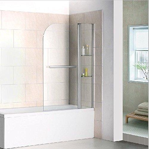 Duschtrennwand   Faltwand   Badewanne Duschabrennung   Badewannenfaltwand