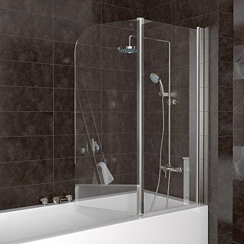 Duschabtrennung badewanne duschwand badewannenfaltwand for Duschabtrennung badewanne