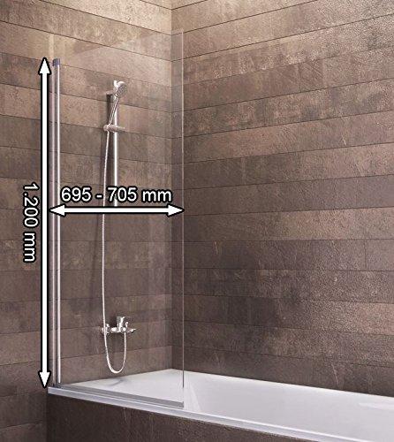 duschabtrennung badewanne glas 1 teilig schulte berlin. Black Bedroom Furniture Sets. Home Design Ideas