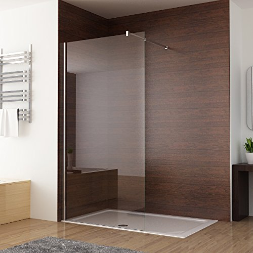 Duschabtrennung walk in Duschwand Seitenwand Dusche 10mm NANO Glas ...