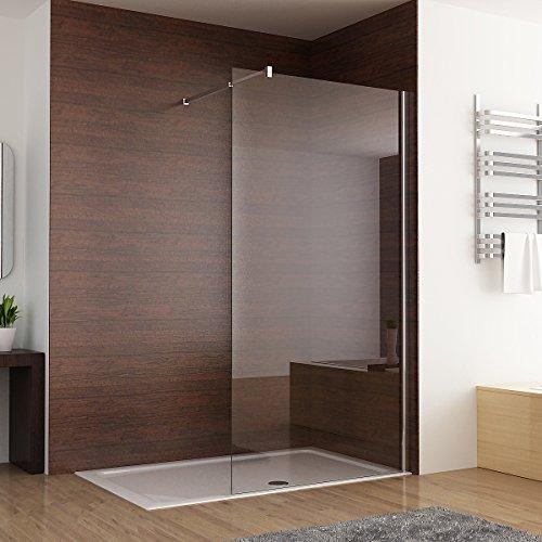 Duschabtrennung walk in duschwand seitenwand dusche 10mm - Duschwand dusche ...