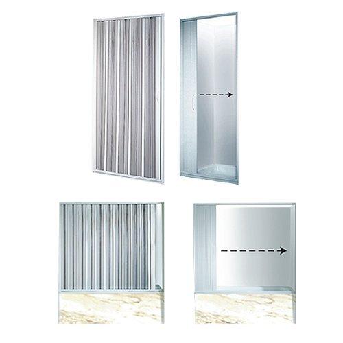 Duschwand variable breite duschabtrennung faltwand - Faltwand dusche ...