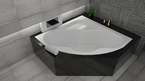 exclusive line eckbadewanne eckwanne badewanne comfort 150x150 cm. Black Bedroom Furniture Sets. Home Design Ideas