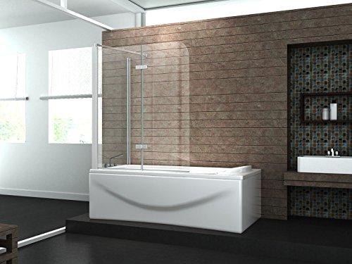 eck duschtrennwand around 70 badewanne. Black Bedroom Furniture Sets. Home Design Ideas