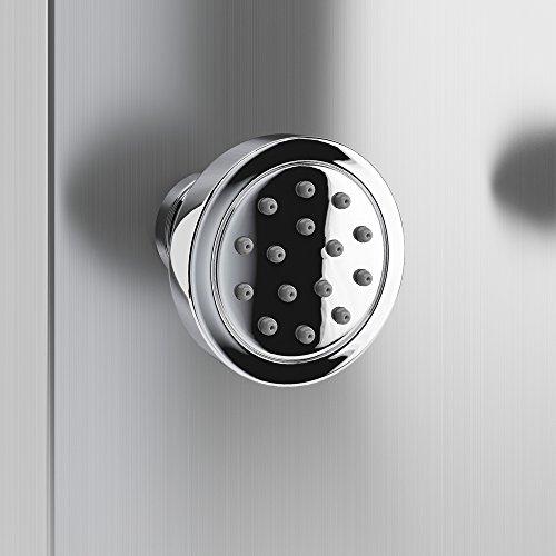 edelstahl duschpaneel duschs ule brausepaneel thermostat wasserfall dusche. Black Bedroom Furniture Sets. Home Design Ideas
