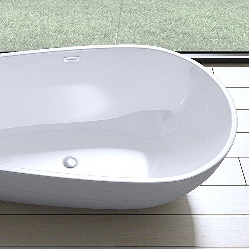elegante design badewanne vicenza506 freistehend in wei. Black Bedroom Furniture Sets. Home Design Ideas