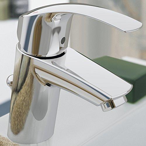 grohe eurosmart waschtischarmatur mit zugstange standard auslauf 23456002. Black Bedroom Furniture Sets. Home Design Ideas