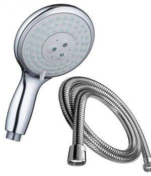 150cm Duschschlauch mit Duschkopf | Duschkopf mit Massagefunktion