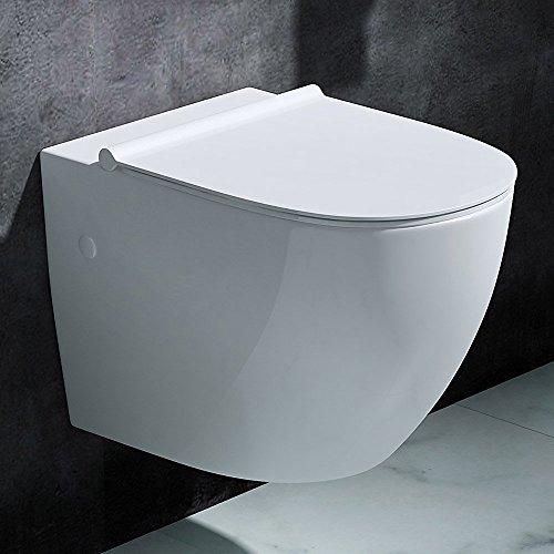 h nge wc toilette aachen502 wand wc aus keramik bth 35 5x56x40 cm. Black Bedroom Furniture Sets. Home Design Ideas