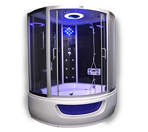Delux Dusche |  Duschempel |  Luxus Duschtempel | Whirpool und Dampfsauna