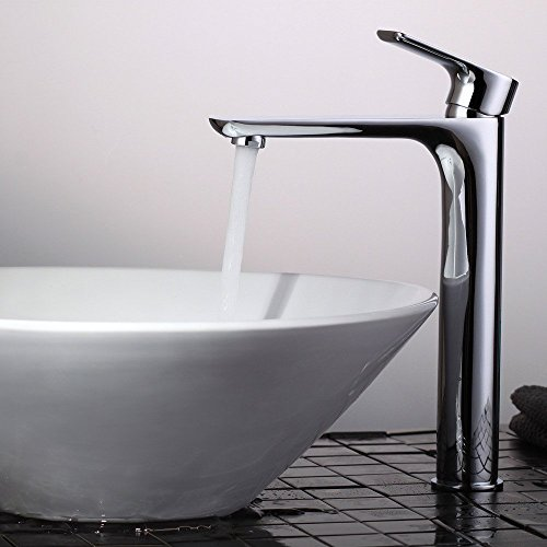 Häufig Homelody Hohe Chrom Einhebelmischer Wasserhahn Waschbecken GL72