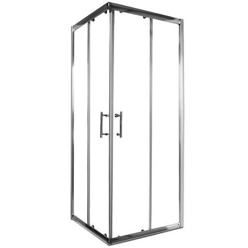 homelux sdn eckdusche duschkabine 6 mm sicherheitsglas nanobeschichtung inkl montagematerial. Black Bedroom Furniture Sets. Home Design Ideas