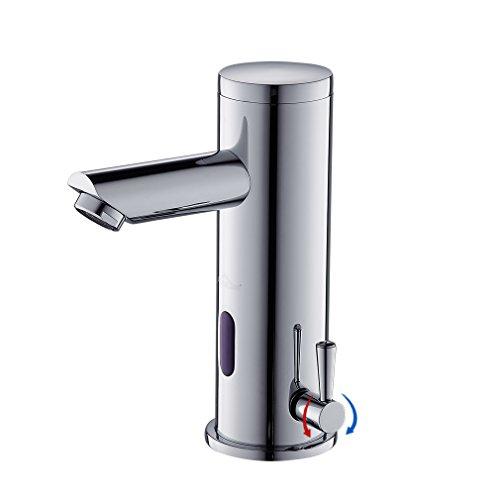 infrarot sensor wasserhahn vollautomatik ir waschtischarmatur einhebelmishcer waschbecken. Black Bedroom Furniture Sets. Home Design Ideas