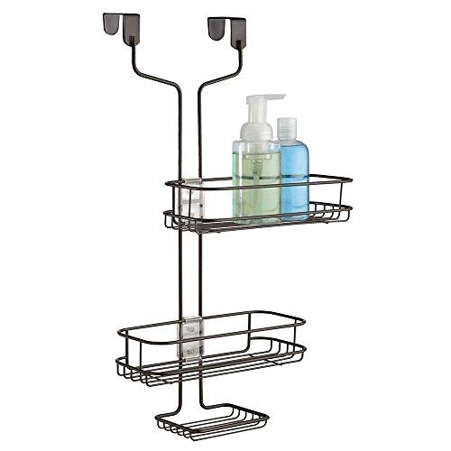 interdesign 69481eu linea verstellbarer dusch caddy zum h ngen ber die t r bronzefarben. Black Bedroom Furniture Sets. Home Design Ideas